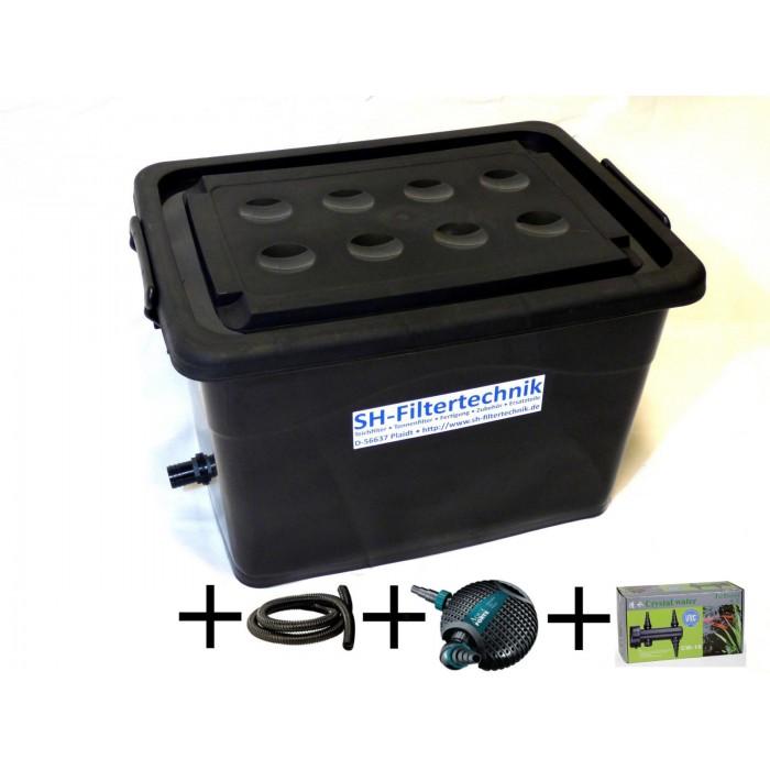 Kompaktfilter KF-90-UP-black